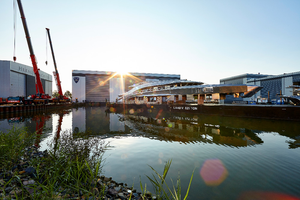Image for article Heesen's latest project enters next phase of construction