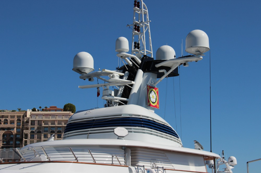 Image for article Kymeta launches multi-panel antenna solution for superyachts