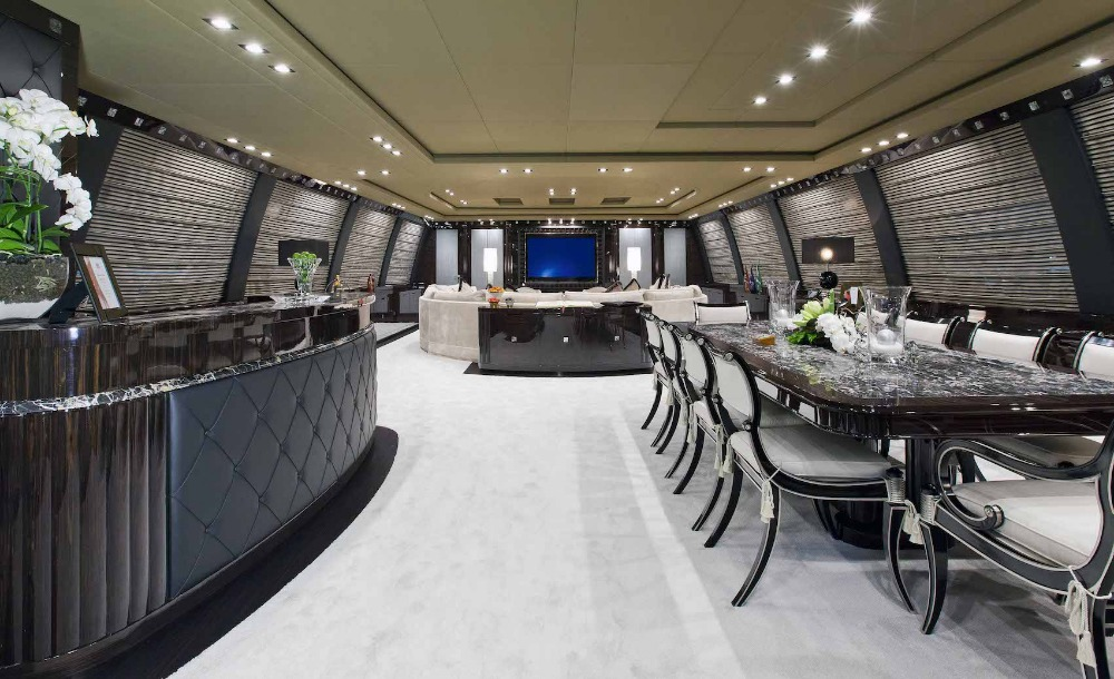 Image for article Imperial showcases M/Y 'Rush' at MYS