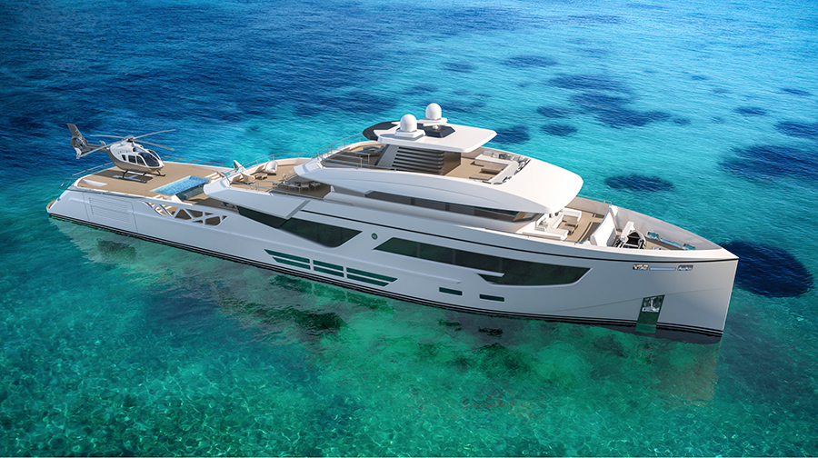 Image for article Rosetti Superyachts unveils new 52m concept