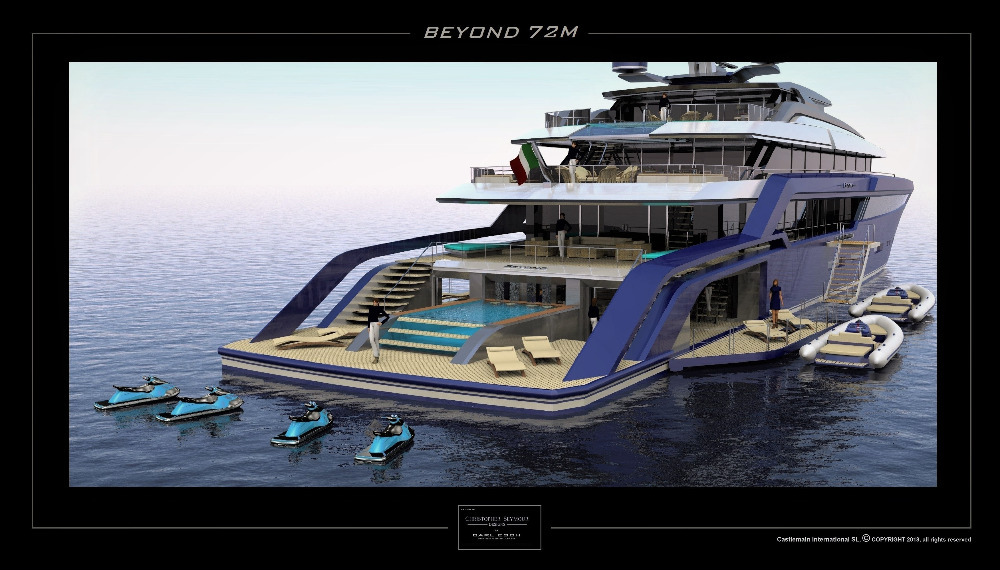Image for article Castlemain International unveils new superyacht series