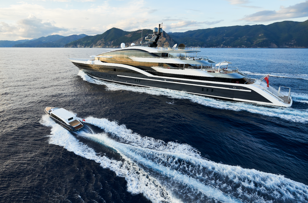 Image for article Taking centre stage: Oceanco's DAR