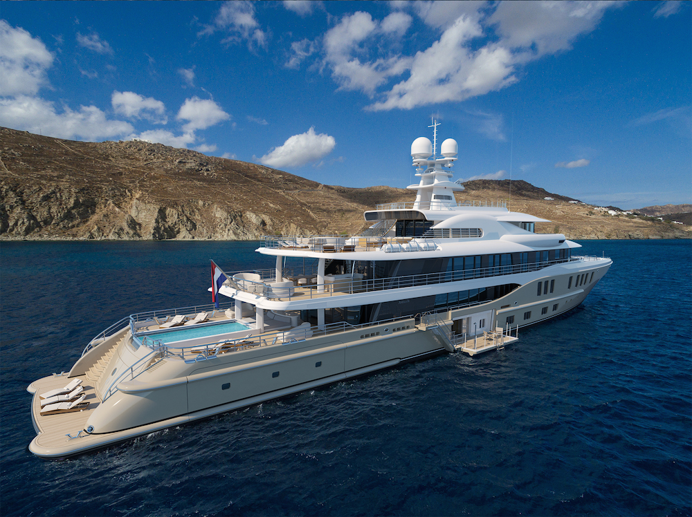 Image for article Amels announces sale of 74m superyacht at MYS
