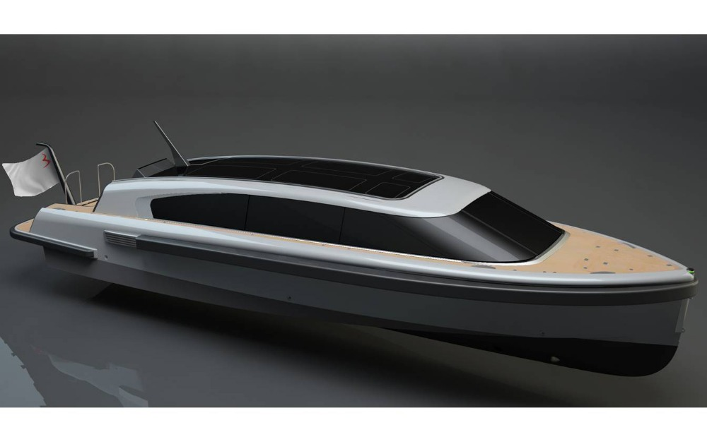 Image for article SOLAS-compliant superyacht tender in build