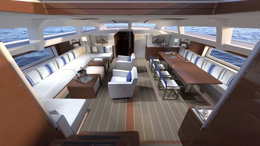 Image for article The Swan 120 – pushing the boundaries of a performance cruiser