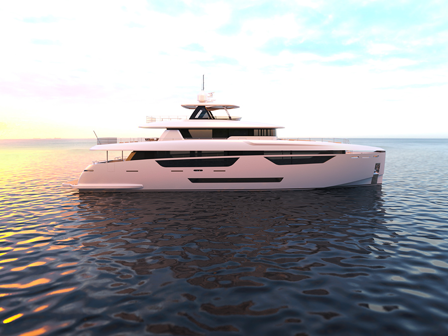 Image for article Johnson Yachts unveils new superyacht flagship
