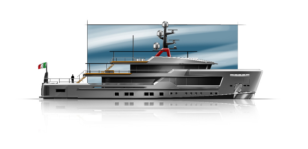 Image for article CRN unveils new superyacht explorer concept