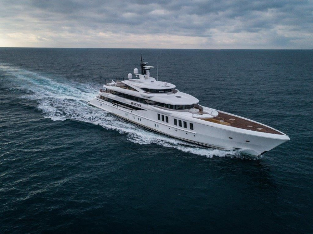 Image for article 69m 'Spectre' delivered by Benetti