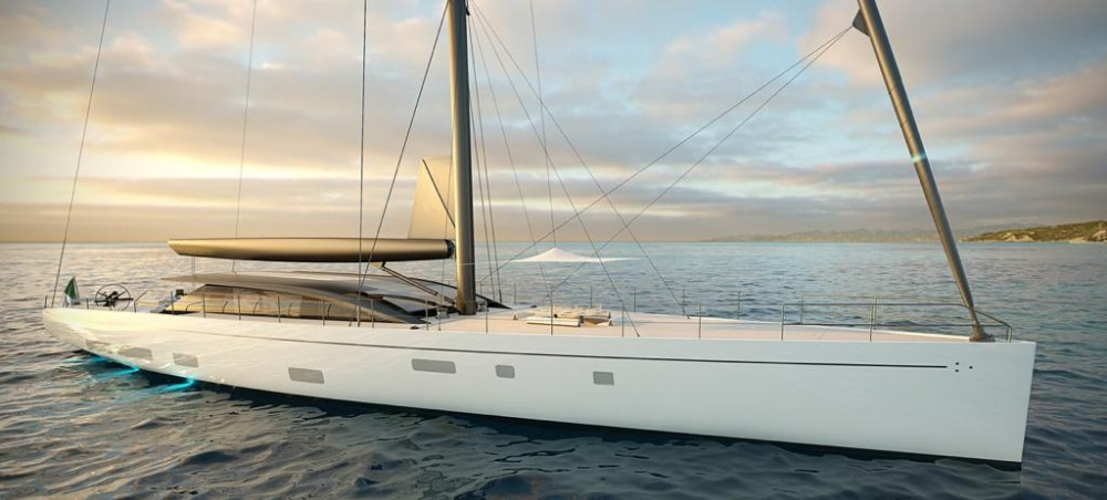 Image for article Perini Navi sells second42m E-volution sailing yacht