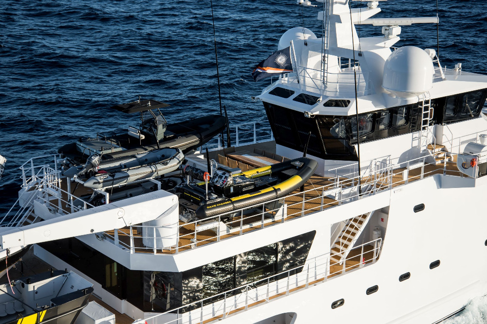 Image for article Damen delivers luxury expedition vessel 'Game Changer'