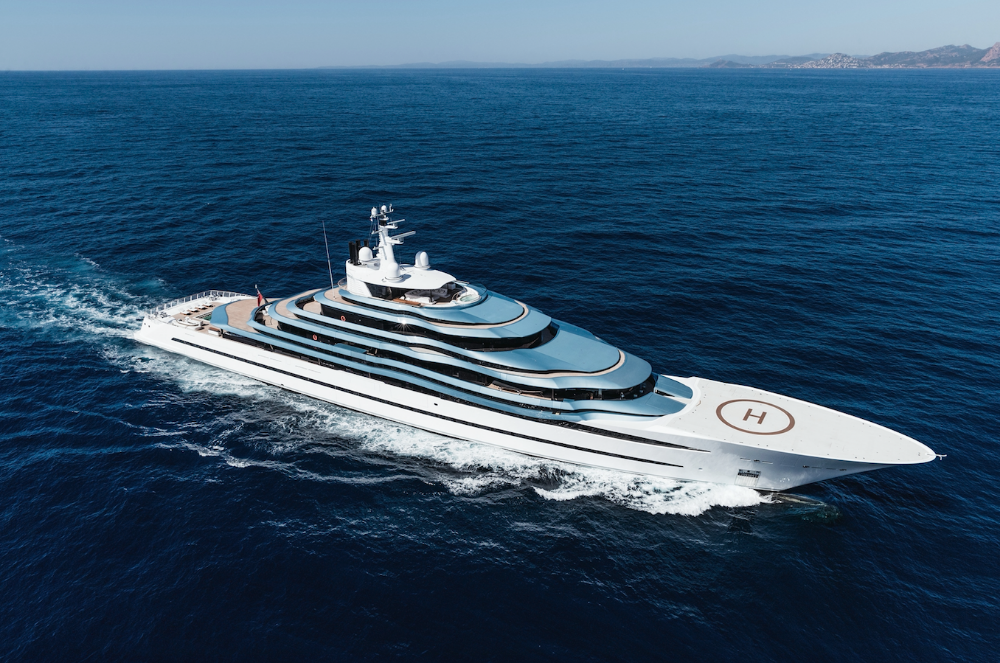 Image for article 110m Oceanco 'Jubilee' sold by Burgess