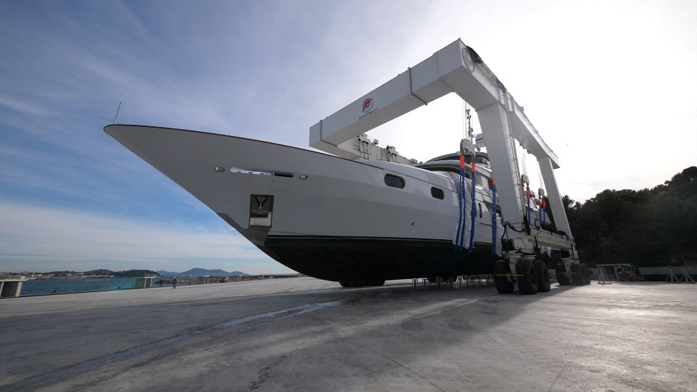 Image for article Monaco Marine's La Seyne-Toulon shipyard open for business