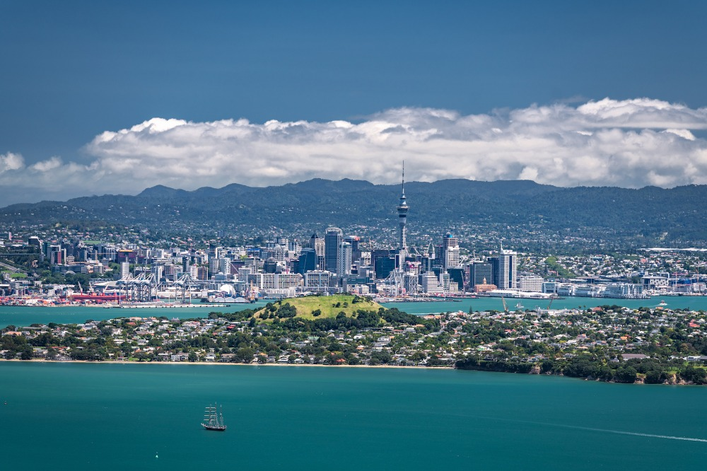 Image for article Auckland considers charging yachts at anchor during America's Cup