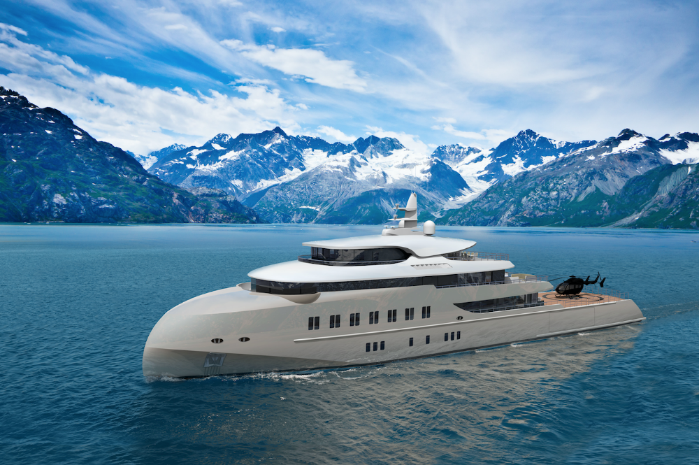 Image for article Hawk Yachts unveils new expedition concept