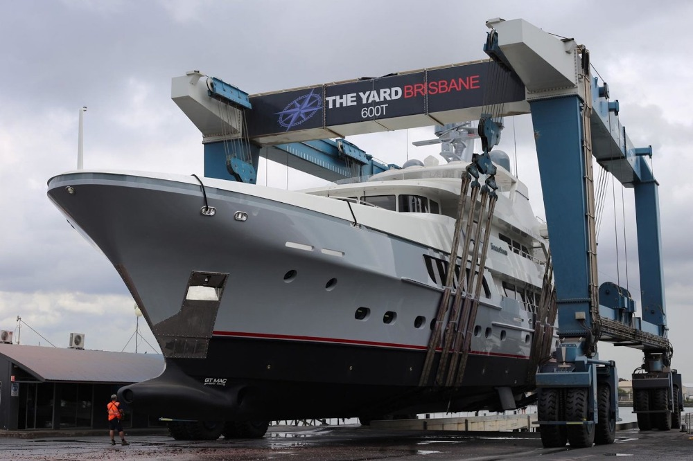 Image for article The Yard Brisbane upgrades superyacht refit facilities