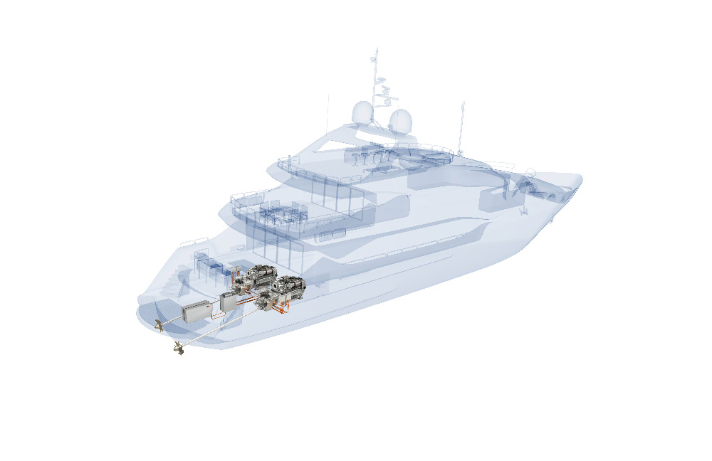 Image for article Sunseeker and Rolls-Royce collaborate with MTU