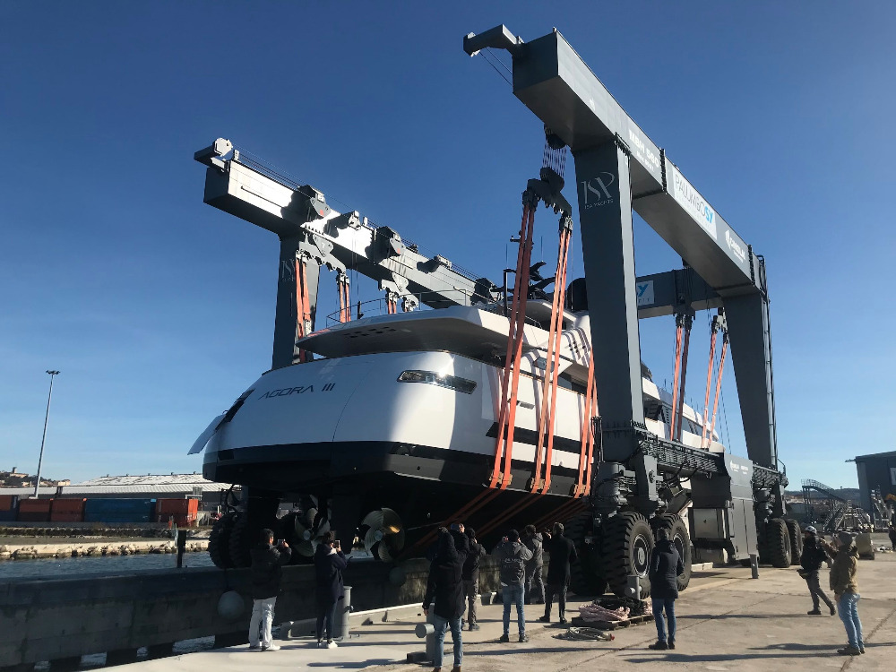 Image for article ISA launches second superyacht under Palumbo ownership