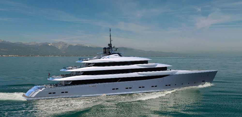 Image for article CRN unveils new 70m superyacht