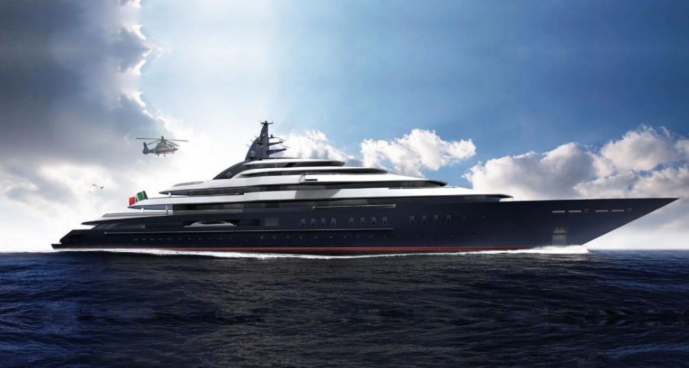 Image for article Lürssen launches 142m 'Project Redwood'