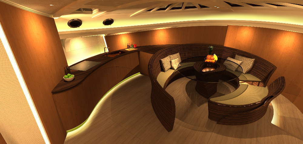 Image for article Spirit Yachts unveils striking sailing yacht interior