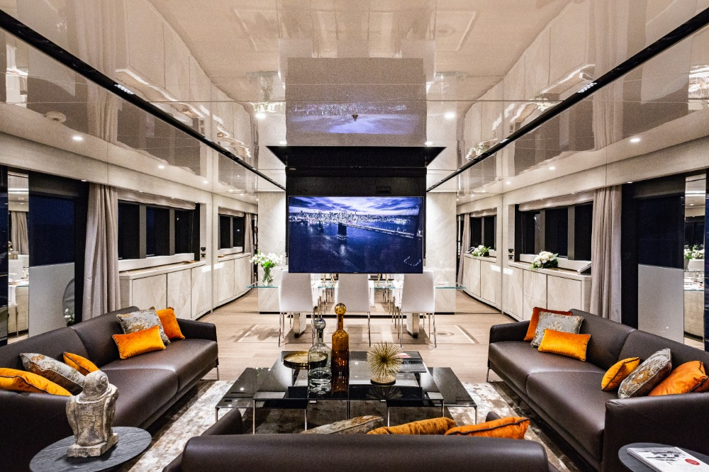 Image for article Videoworks reveals latest technology on M/Y 'Cecilia'
