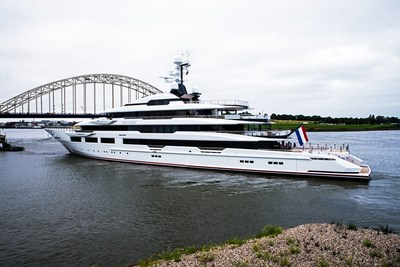 Image for article Oceanco delivers 'DreAMBoat' to owners