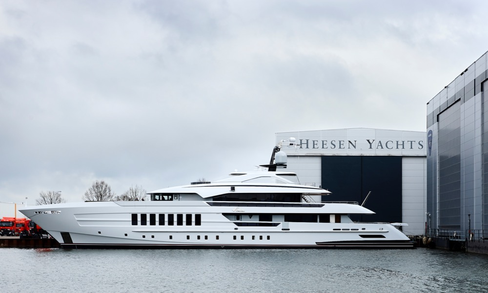 Image for article Heesen introduces its newest yacht, 'Vida'