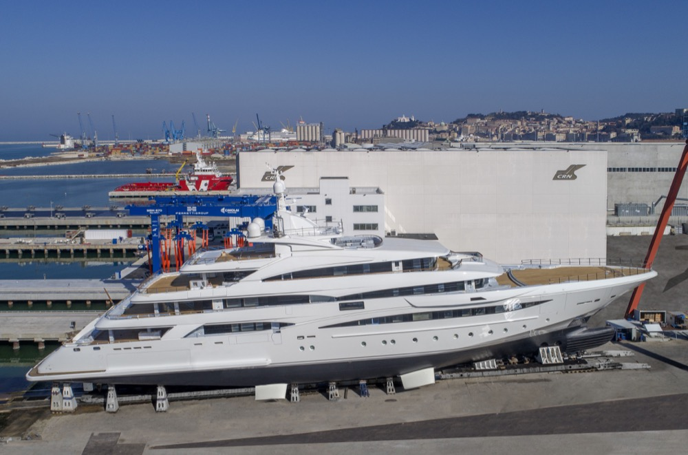 Image for article M/Y '135' ready to launch