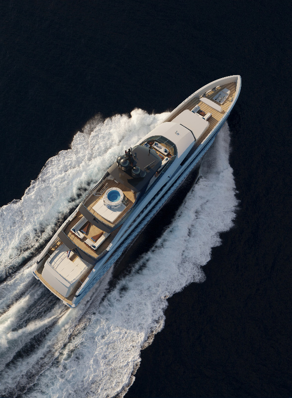 Image for article Heesen unveils new 50m superyacht