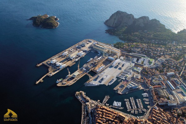 Image for article La Ciotat Shipyards begins commercialisation of LCS Yachting Village