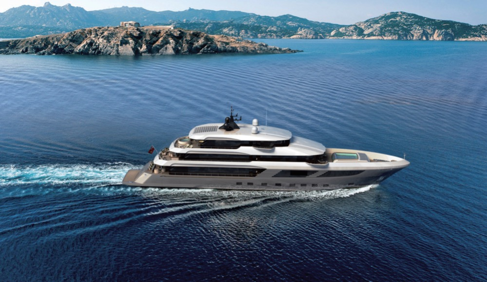Image for article Gulf Craft reveals plans for latest superyacht