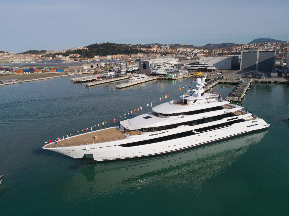 Image for article Columbus Yachts launches new 80m superyacht