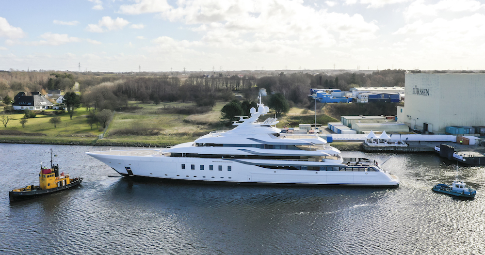 Image for article Lürssen launches 95m 'Madsummer'