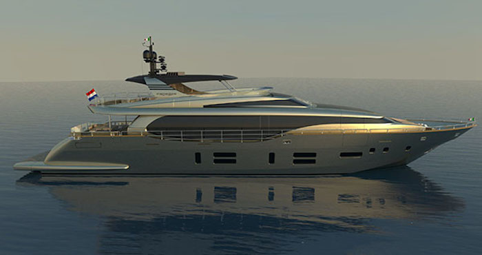 Image for article Canados nears launch of 120' Caesar