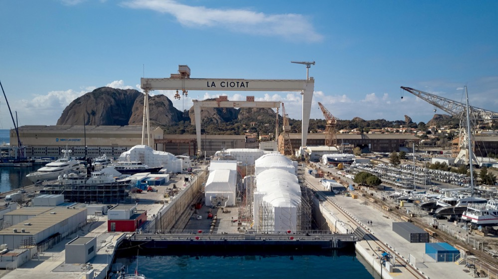 Image for article MB92 La Ciotat awarded concession for 200m dry dock