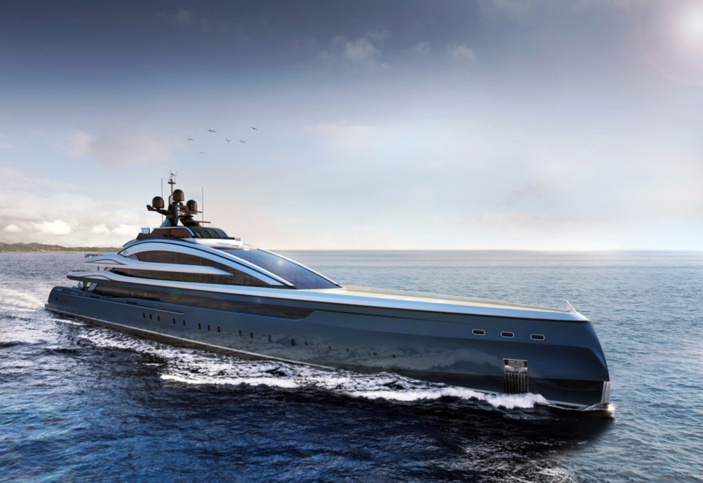 Image for article ISA Yachts signs Hydro Tec concept for new line
