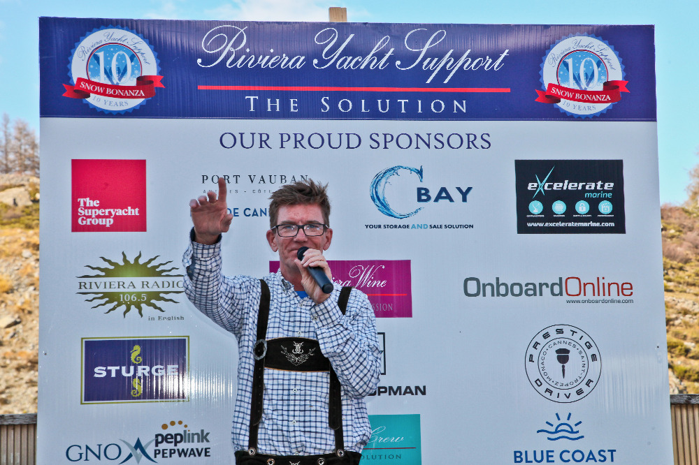 Image for article Success at the Riviera Yacht Support Snow Bonanza 2019