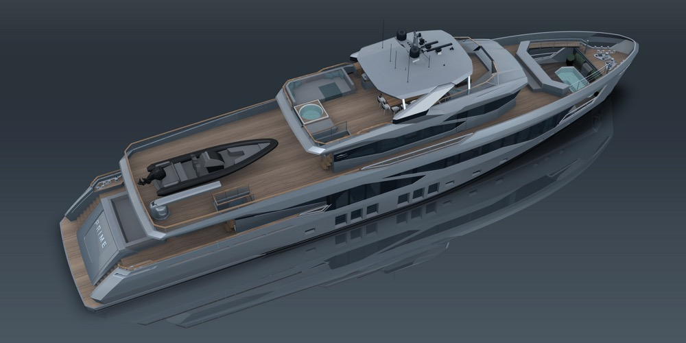 Image for article Numarine presents the future flagship of its XP series