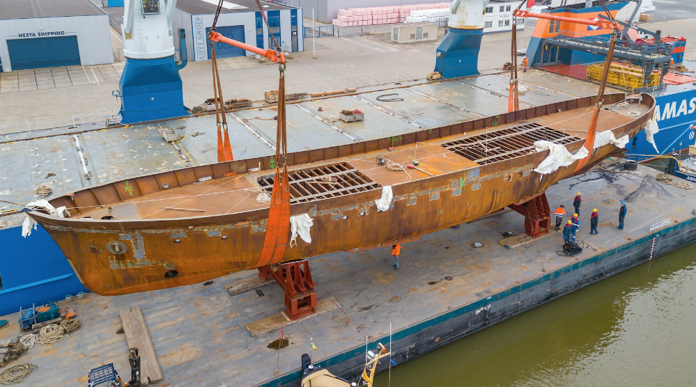 Image for article A new lease of life for 1954 superyacht 'Istros'