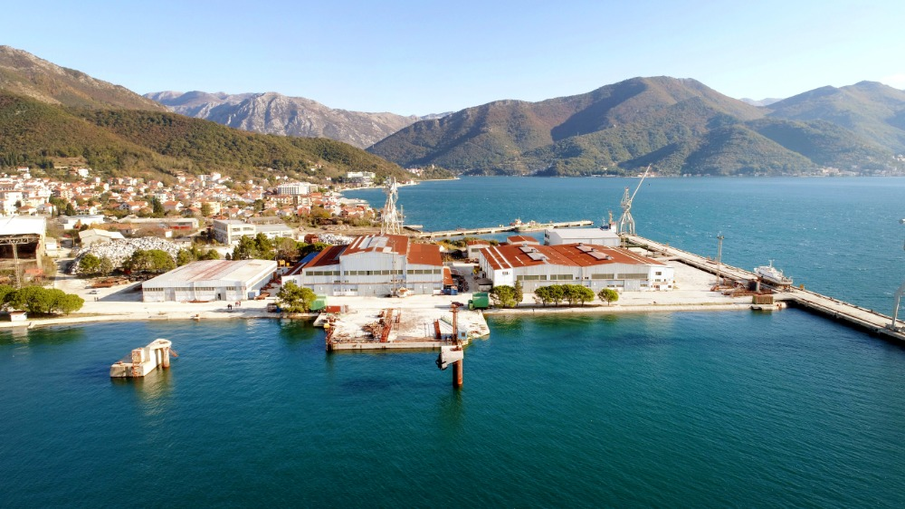 Image for article Regeneration of Bijela shipyard in Montenegro commences