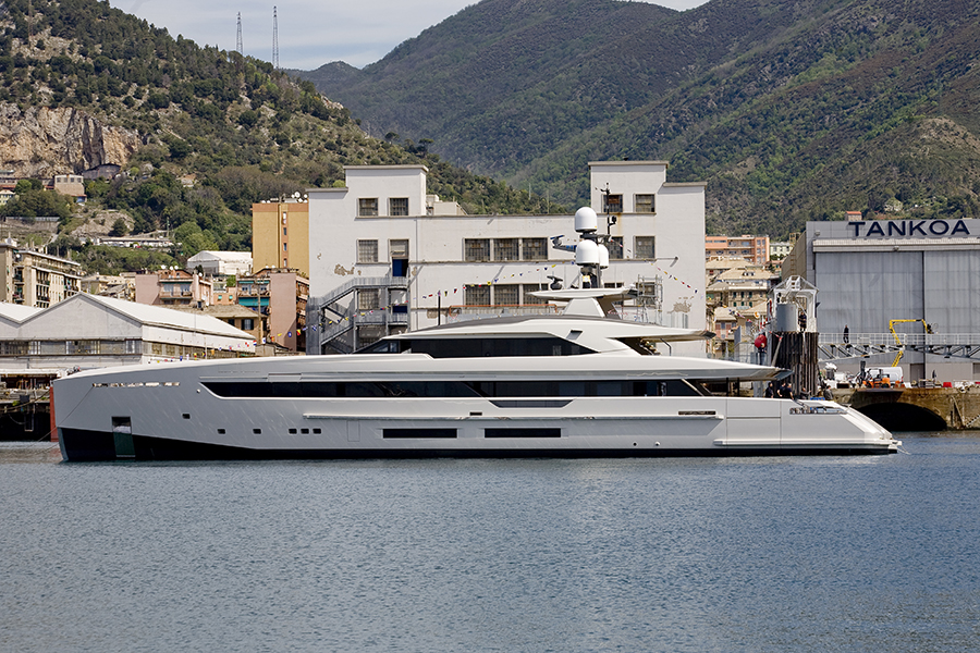Image for article Tankoa Yachts launches its fourth superyacht