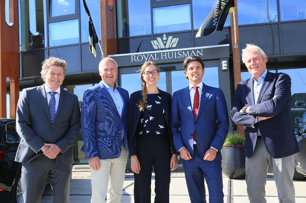 Image for article Royal Huisman moves into former Holland Jachtbouw shipyard