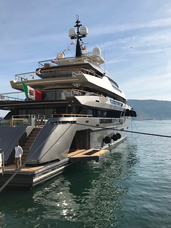 Image for article Sanlorenzo launches largest superyacht to date