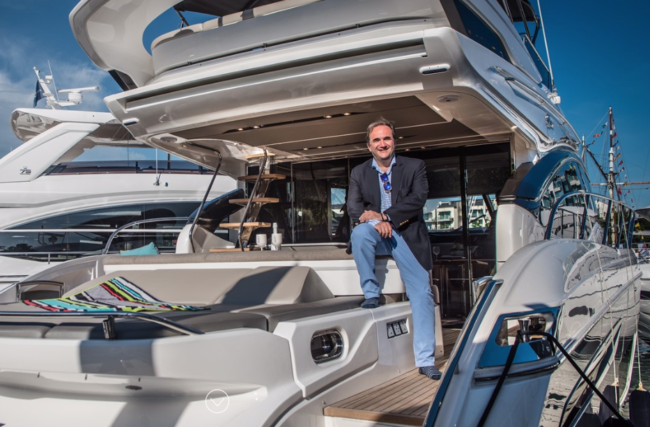 Image for article A record year for Princess Yachts