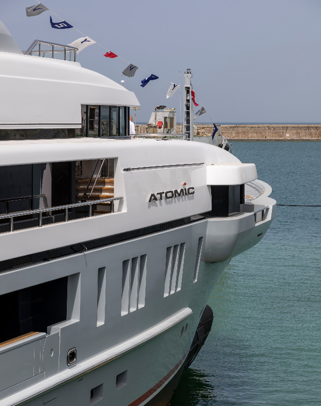 Image for article VSY launches first superyacht since 2013