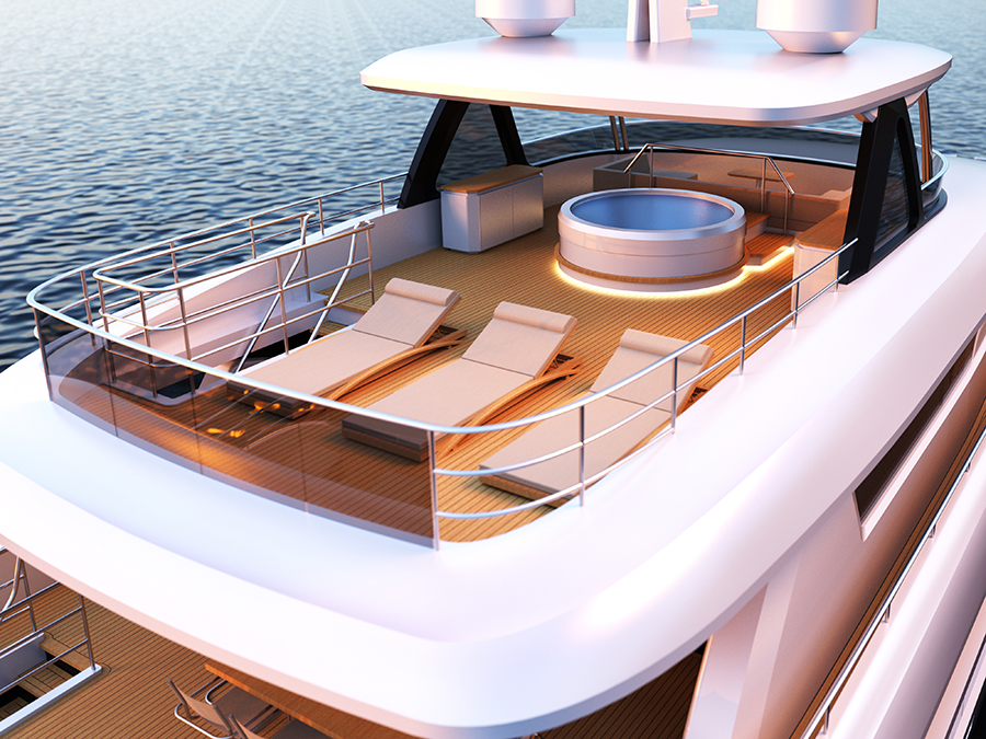 Image for article Johnson Yachts introduces new flagship 115 project