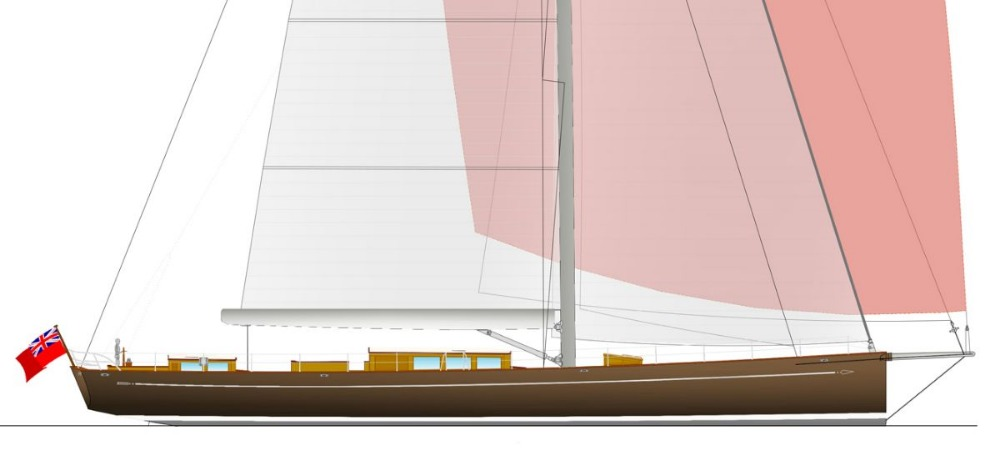 Image for article Baltic Yachts wins order for 39.6m classic sloop