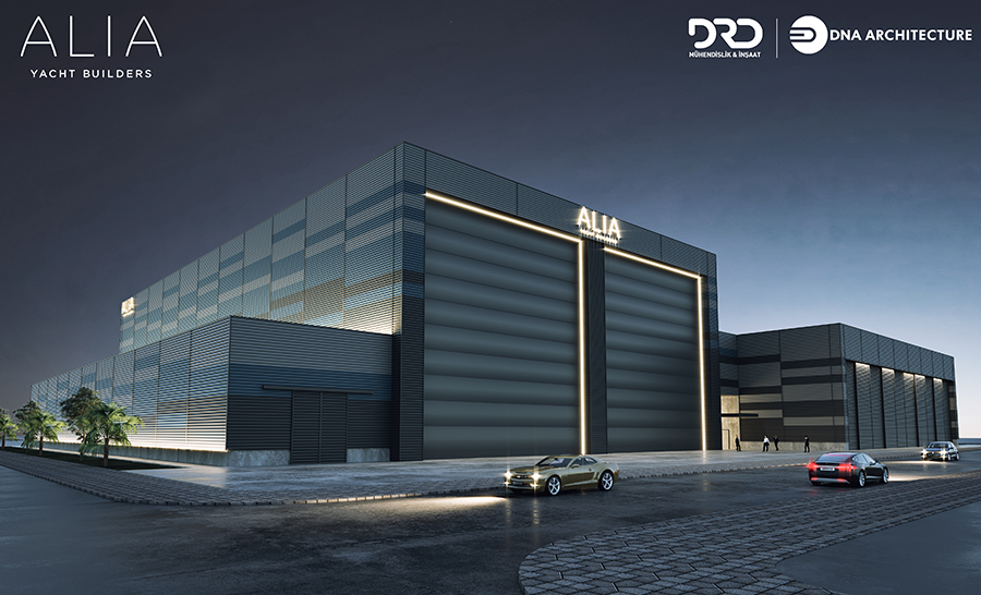 Image for article Alia Yachts confirms new construction facility