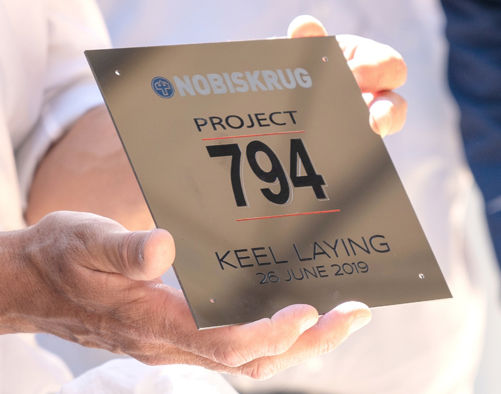 Image for article Nobiskrug lays the keel of new 62m superyacht