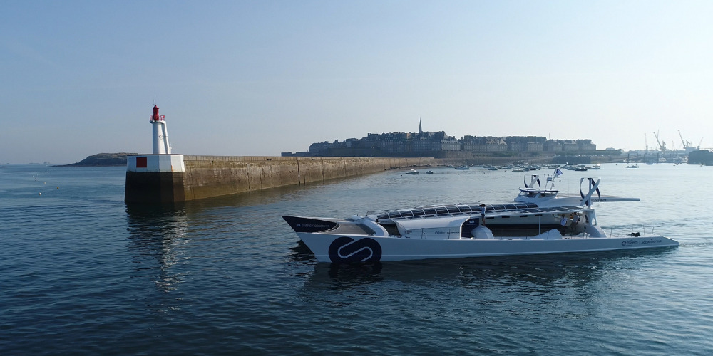 Image for article The world's first hydrogen boat visits Amsterdam